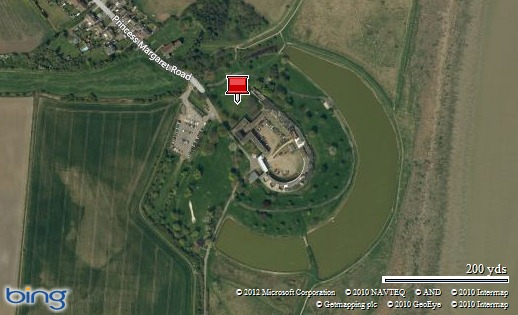 Coalhouse Fort Location