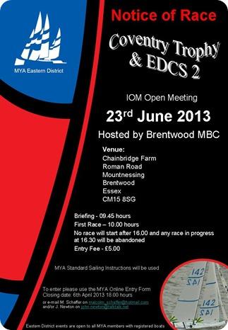 Coventry Trophy & EDCS2 2013