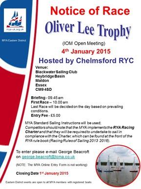 Oliver Lee Trophy 2015