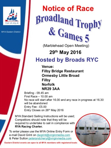 Broadland Trophy2016