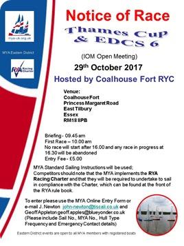Thames Cup & EDCS6 2017