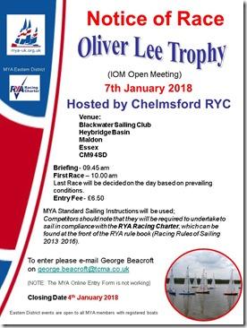 Oliver Lee Trophy
