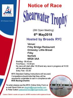 Shearwater Trophy2018